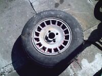 old granada or cortina alloy wheel 1 only