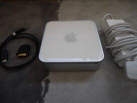 Apple Mac mini + HDMI Adapter & Cable - Intel Core Duo 1.83 GHz - 2GB RAM - 80GB HDD - Works Great!