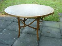 Conservatory or dining table - an old piece to be admired