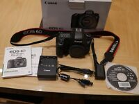 Canon EOS 6D 20.2MP Digital SLR Camera Black BODY ONLY