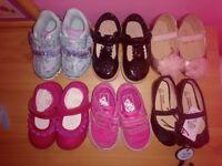 Toddler girls shoe bundle size 4