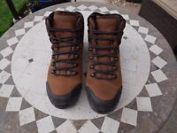 Brasher Ladies Nubuck Leather Gortex Walking Boots