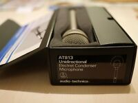 Audio-Technica Unidirectional Electret Condenser Microphone