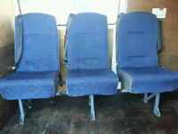 Sprinter Van Rear bench seats with seat belts crew cab