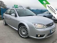 FORD MONDEO MONDEO 2.2 ST TDCI 155 SALOON - 15 MONTHS FREE WARRANTY (silver) 2007