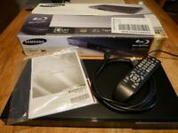 Samsung Smart Blu-ray Blu ray DVD player BD-D5300