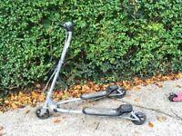 Scooter zig zag 3 wheel swing
