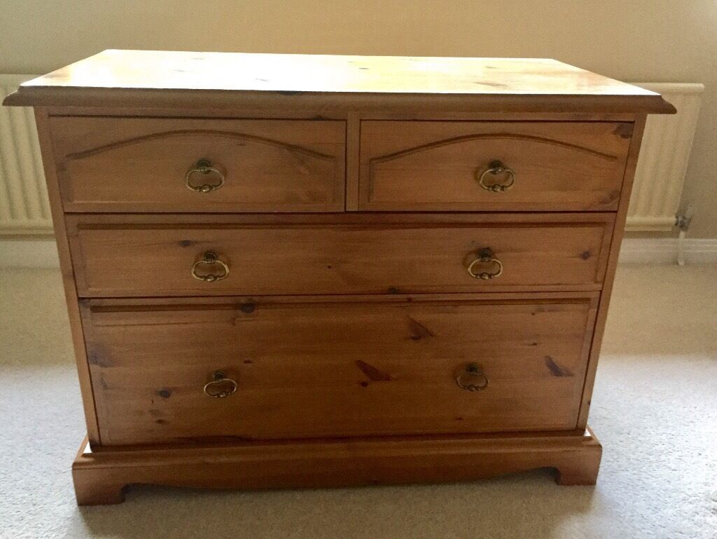 Pine Bedroom Stool Pine Bedroom Furniture 2 Chest Of Drawers 2 Bedside Tables