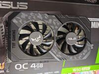 ASUS 1650 SUPER 4GB TUF GAMING OC