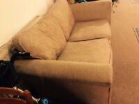 3 seater & 2 seater brown sofas! Only 3 months old! Good condition