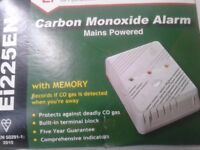 Aico EI225EN 240v Carbon Monoxide Alarm with Built In Memory ~ Brand New in Box