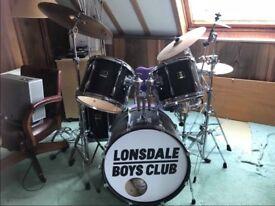 Yamaha Stage Custom Birch Complete Drum Kit