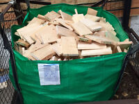 Firewood - Ideal for Wood Burners, Open Fires etc - Only £20 per Builder's Bag!