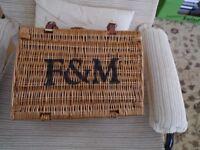 Fortnum and Mason empty hamper