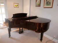 Offenbach baby grand piano, excellent condition.