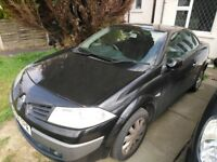 Must go -spares and repair , Renault megane convertible