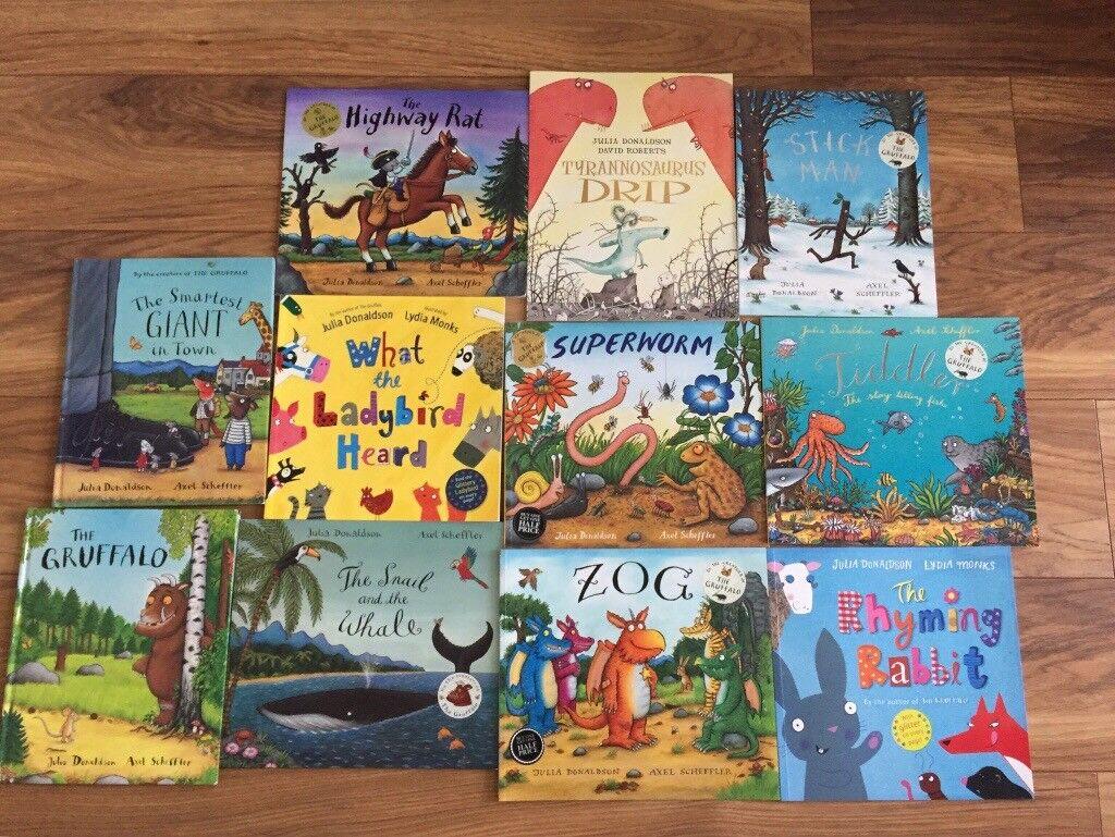 11 Julia Donaldson children's books