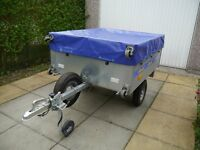 Trailer by Duuo all as new condition, never been on the road except the 10 mile transport home.