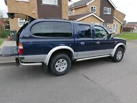 2004 FORD RANGER XLT 2.5T (4x4) Double Cab With Rear Canopy.