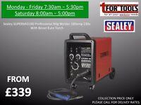 Sealey SUPERMIG180 Pro MIG Welder 180A + Euro Torch