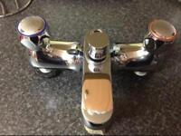 Chrome mixer tap for bath £10 Ono
