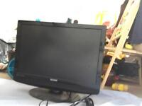 22 inch TV with remote