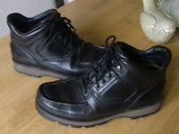 Rockport XCS Waterproof Leather Boots, Black, size 11