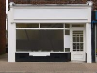 Self-contained Ground Floor Shop with First Floor Office/Workroom close to West Worthing Station