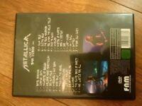Metallica live at San Diego DVD