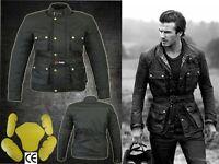 Justine Monie David Beckham Motorbike Textile Jacket CE Approved Armour