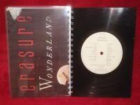 Erasure Wonderland Album A5 Handmade Vinyl Notebook