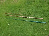 2 x Fishing Rods ideal for children