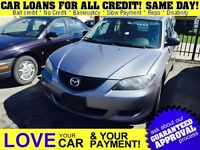 2005 Mazda MAZDA3 GX * AS IS * REDUCED WAS $1750