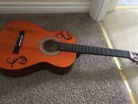 Freedom Guitar with case