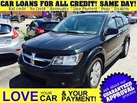 2009 Dodge Journey R/T * LEATHER * POWER ROOF * 4X4 * SAT RADIO