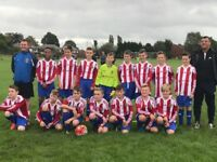 Junior football players needed