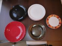Assortment of 20 plates (ideal for students)