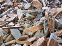 Rustic Slate Garden Stone