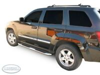 2005-2010 Jeep Grand Cherokee stainless sidebars. SB320SS