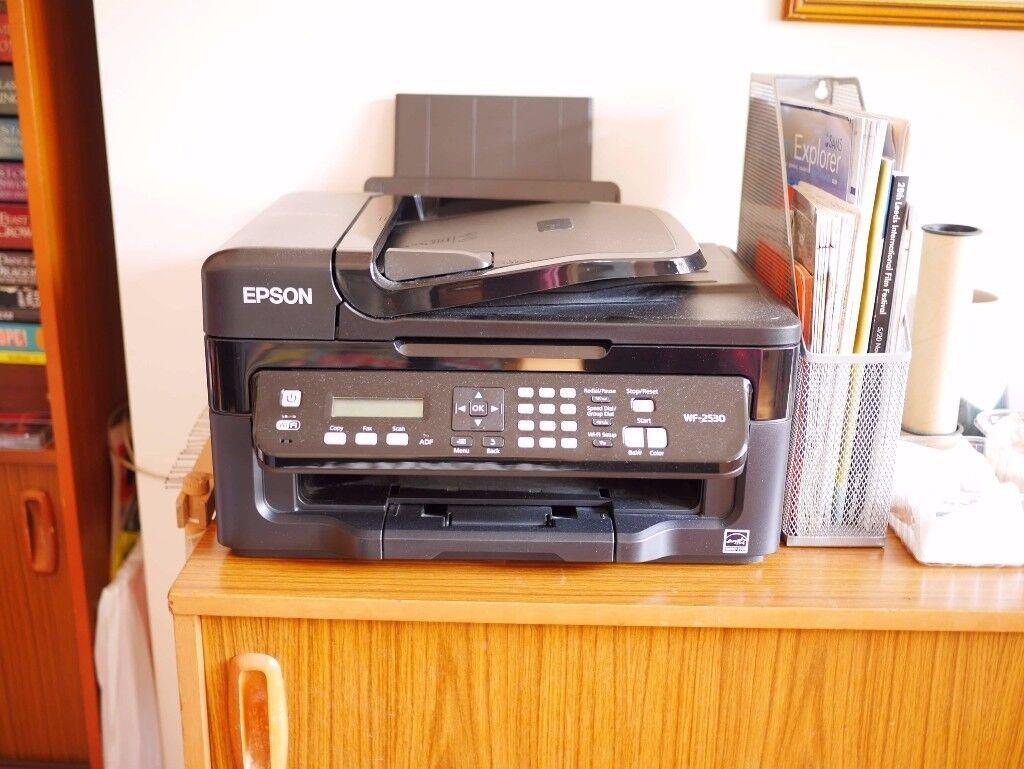 Fully working printer scanner