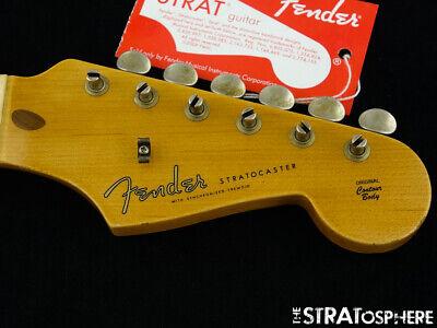 Fender USA Custom Shop Tomatillo II Relic Stratocaster NECK+ TUNERS Strat *Maple
