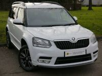 (15-64) Skoda Yeti 2.0 TDI CR DPF Black Edition Station Wagon DSG 4x4 5dr **1 OWNER** FULL SKODA HIS