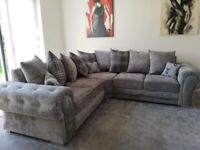 BIGGEST OFFER💥 BRAND NEW VERONA CORNER SOFA & 3+2 ONLY @£475 FREE DELIVERY