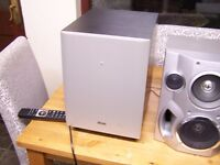 1000w amplifier with subwoofer and hi fi speakers
