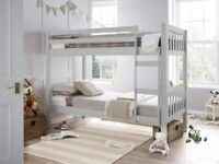 single wooden bunk bed is available cash on delivery