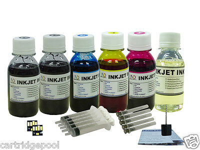 HP 6x4oz/s Refill Ink Kit For Kodak 10 : Esp 7250 9 9250 ...