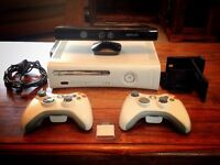 Xbox 360 & Kinect plus Games
