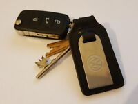 Volkswagen car keys and house keys