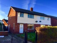 Three Bedroom Refurbished Home in Mold close to Town Centre