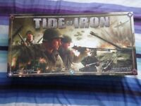 Tide Of Iron, World war 2 Tactical Combat board game